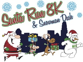 Santa Run 8K and Snowman Dash