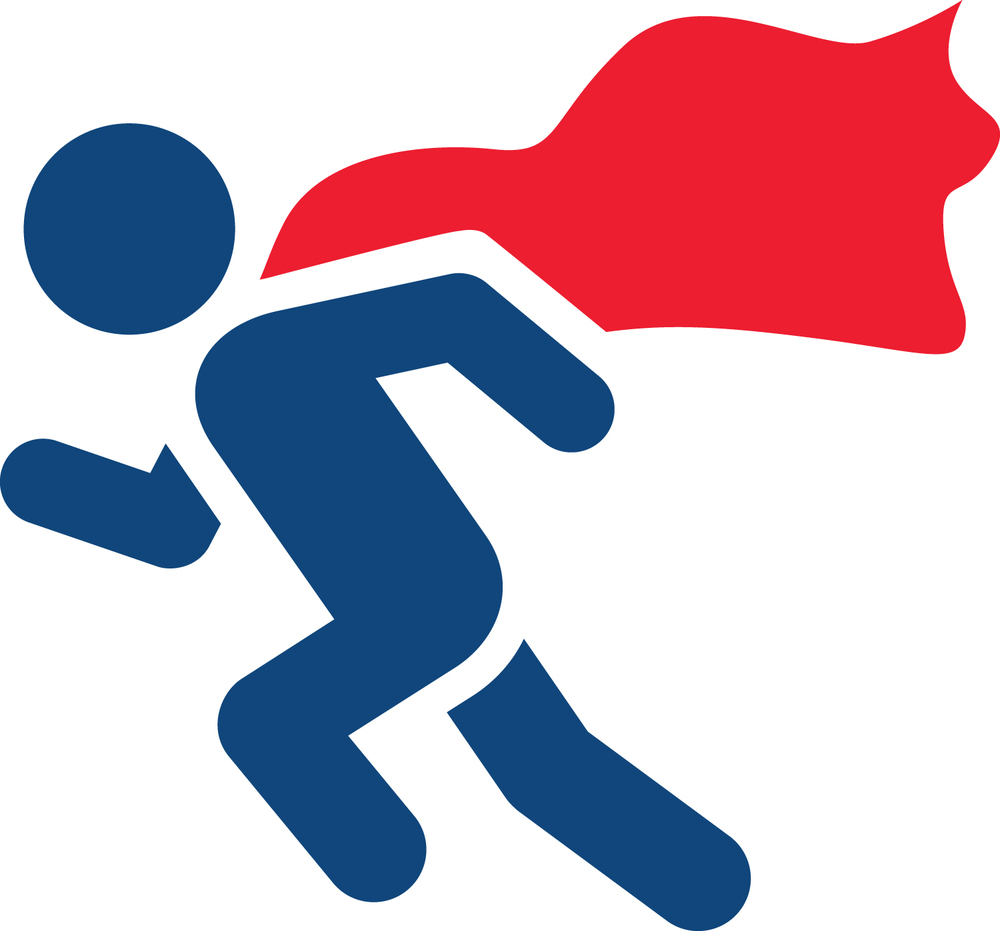 Image result for super hero run