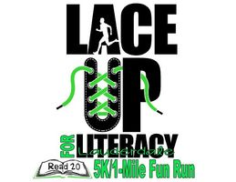 Lace Up For Literacy 5k and 1 mile fun run