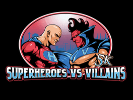 Superheroes vs Villains
